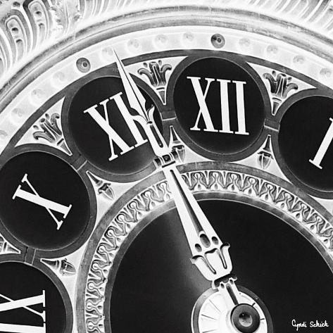 Hands of Time II Pingotettu canvasvedos