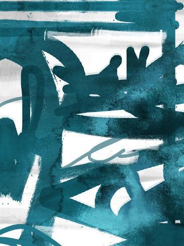 Blue Cynthia 1 Art Print
