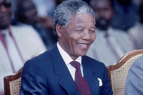 Nelson Mandela, 1993 Photographic Print
