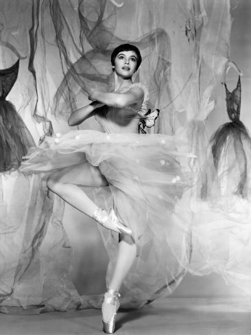Daddy Long Legs, Leslie Caron, 1955 Photo