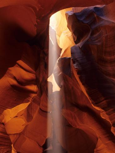 Slot Canyons of the Colorado Plateau, Upper Antelope Canyon, Arizona, USA Photographic Print