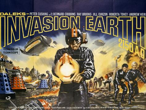 Daleks' Invasion Earth: 2150 A.D. Lámina