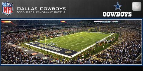Dallas Cowboys 1000 Piece Panoramic Stadium Jigsaw Puzzle Jigsaw Puzzle