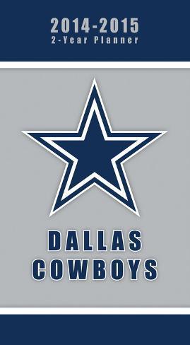 Dallas Cowboys - 2014-15 2-Year Planner Calendars
