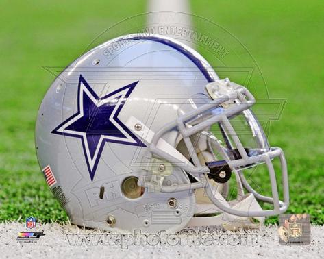 Dallas Cowboys Helmet Photo