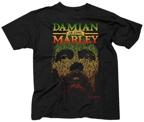 Damian Marley- Lyric Face And Name T-Shirts en AllPosters.es 19c3783ccdebc
