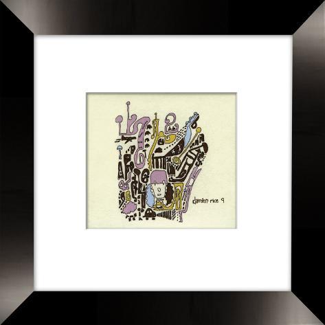 Damien Rice Framed CD