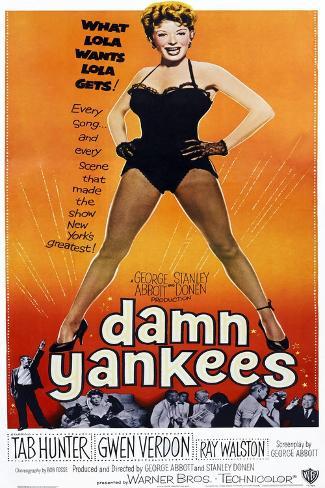 Damn Yankees Art Print
