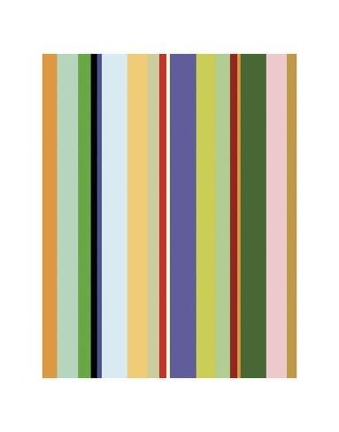 Colorfield Stripe Art Print