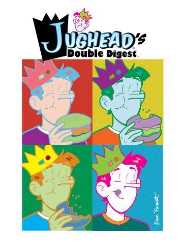 Archie Comics Cover: Jughead'a Double Digest No.186 Poster