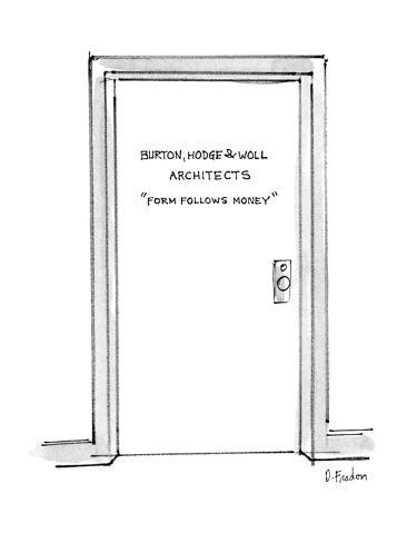 Door with inscription