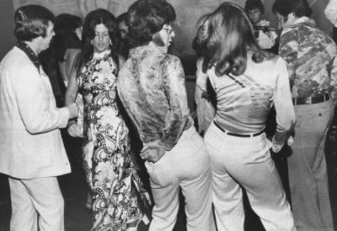 Dancers Doing the Bump 1975 Archival Photo Poster Masterprint