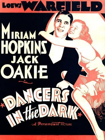 Dancers in The Dark, Jack Oakie, Miriam Hopkins, 1932 Art Print