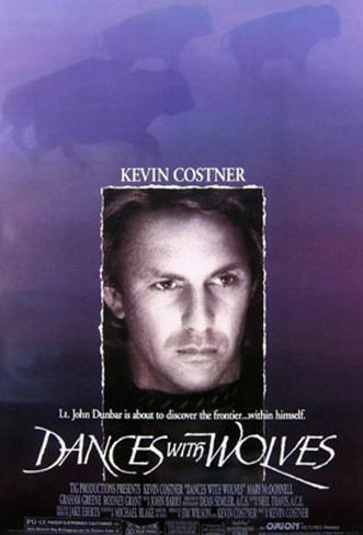 Dances With Wolves Double-sided poster