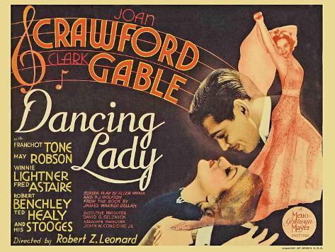 Dancing Lady, 1933 Art Print