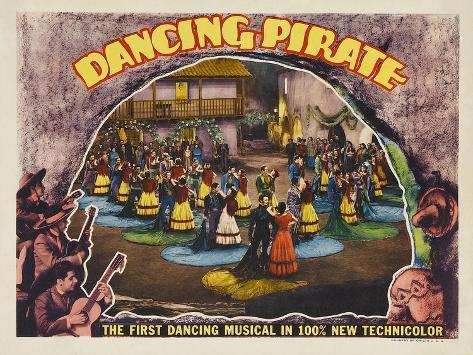 Dancing Pirate, 1936 Lámina