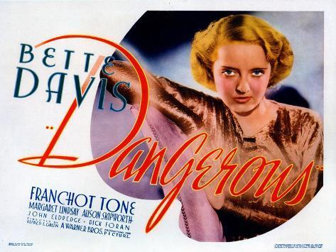 Dangerous, Bette Davis, 1935 Fotografia