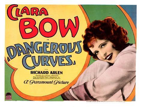 Dangerous Curves, Clara Bow, 1929 Fotografía