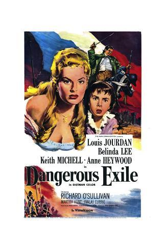 Dangerous Exile Art Print