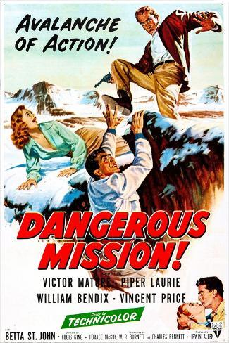 Dangerous Mission Art Print