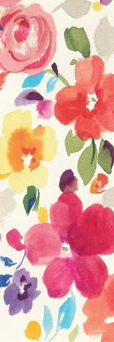 Popping Florals II Premium Giclee Print