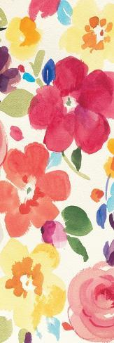 Popping Florals III Premium Giclee Print