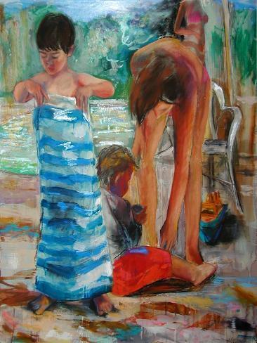 Glittereyed, 2005 Giclee Print