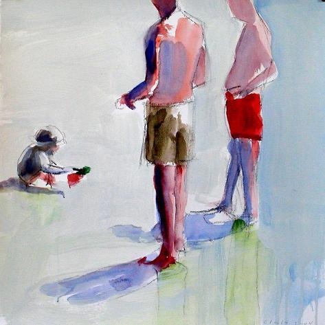 Study for Grandfathers, 2004 Giclee Print