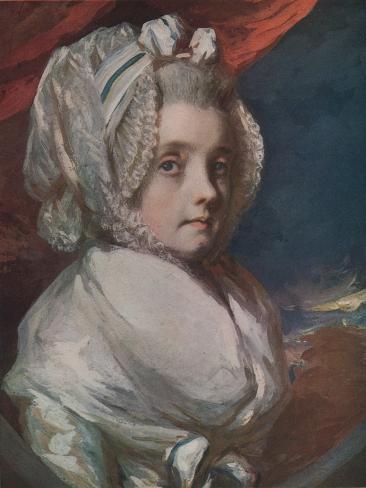 Mrs Elliot, Afterwards Lady Minto, 1925 Giclée-vedos