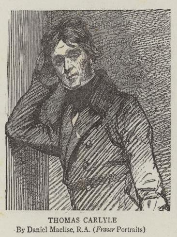 Thomas Carlyle Lámina giclée