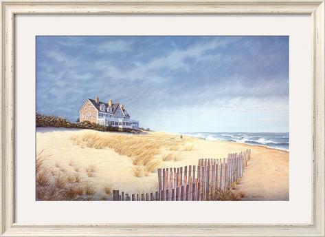 Beach house prints by daniel pollera for Beach house prints