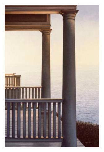 October Portico Art Print