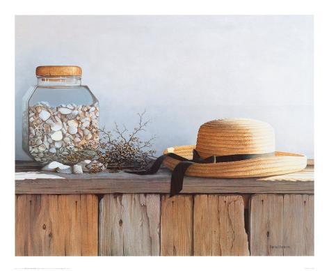 Still Life with Seashells Art Print