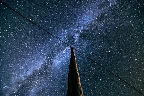 Milky Way View Photographic Print