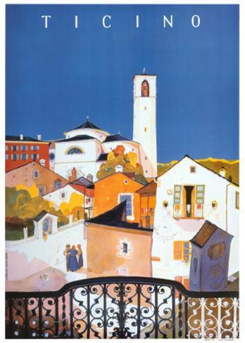 Ticino Art Print