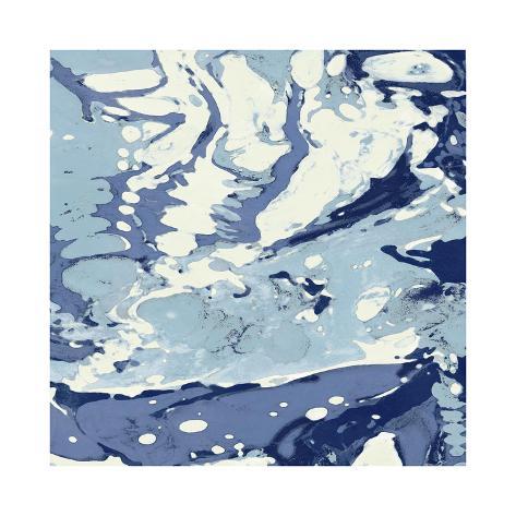 Marbleized III Giclee Print