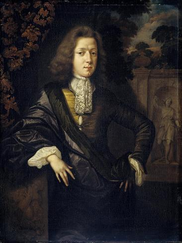 Portrait of Johan Van Bochoven, Adviser to the Court of Flanders Art Print