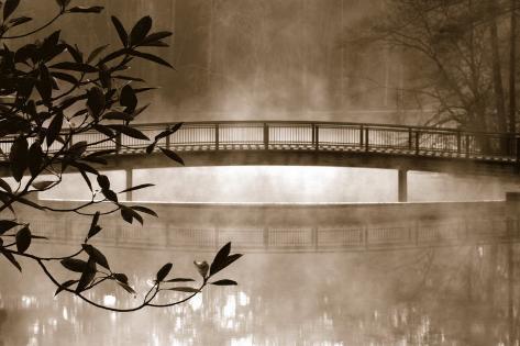 Callaway Garden Pond Art Print