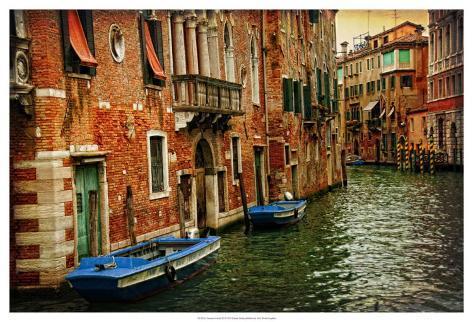Venetian Canals III Art Print