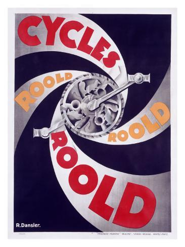 Cycles Roold Giclee Print