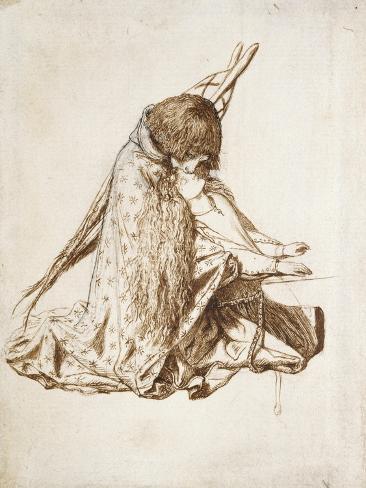 St Cecilia Lámina giclée