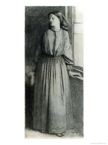 Elizabeth Siddal, May 1854 Giclee Print