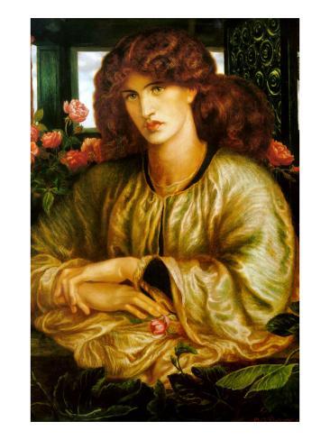 Lady of the Window; La Donna Della Finestra Art Print