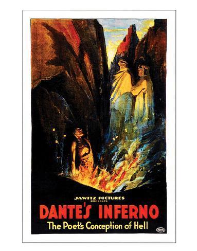Dante's Inferno - 1922 Giclee Print