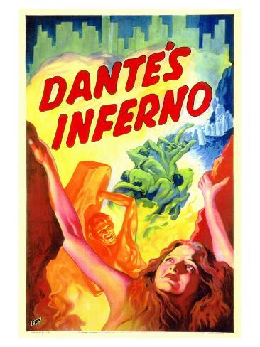 Dante's Inferno, 1935 Art Print