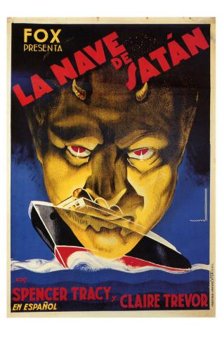 Dante's Inferno, Spanish Movie Poster, 1935 Masterprint