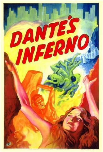 Dante's Inferno Masterprint