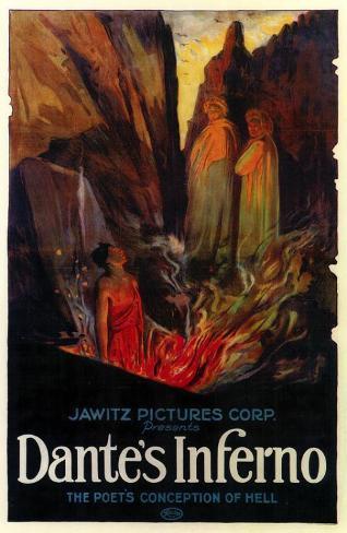 Dante's Inferno Framed Art Print