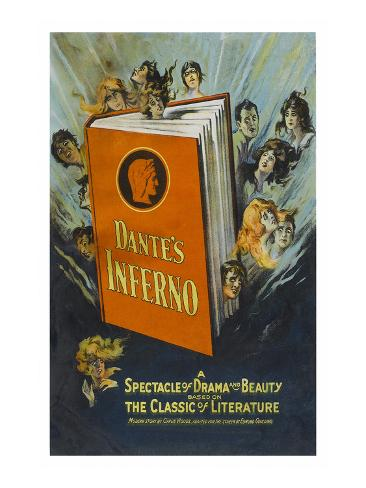 Dante's Inferno Art Print