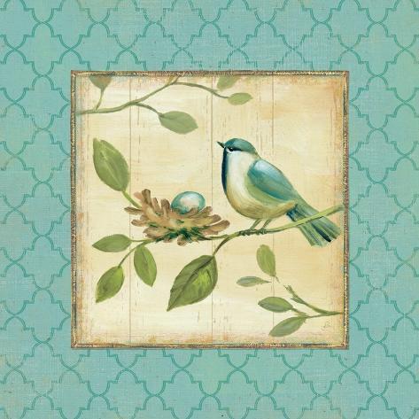 Birds Home II Art Print